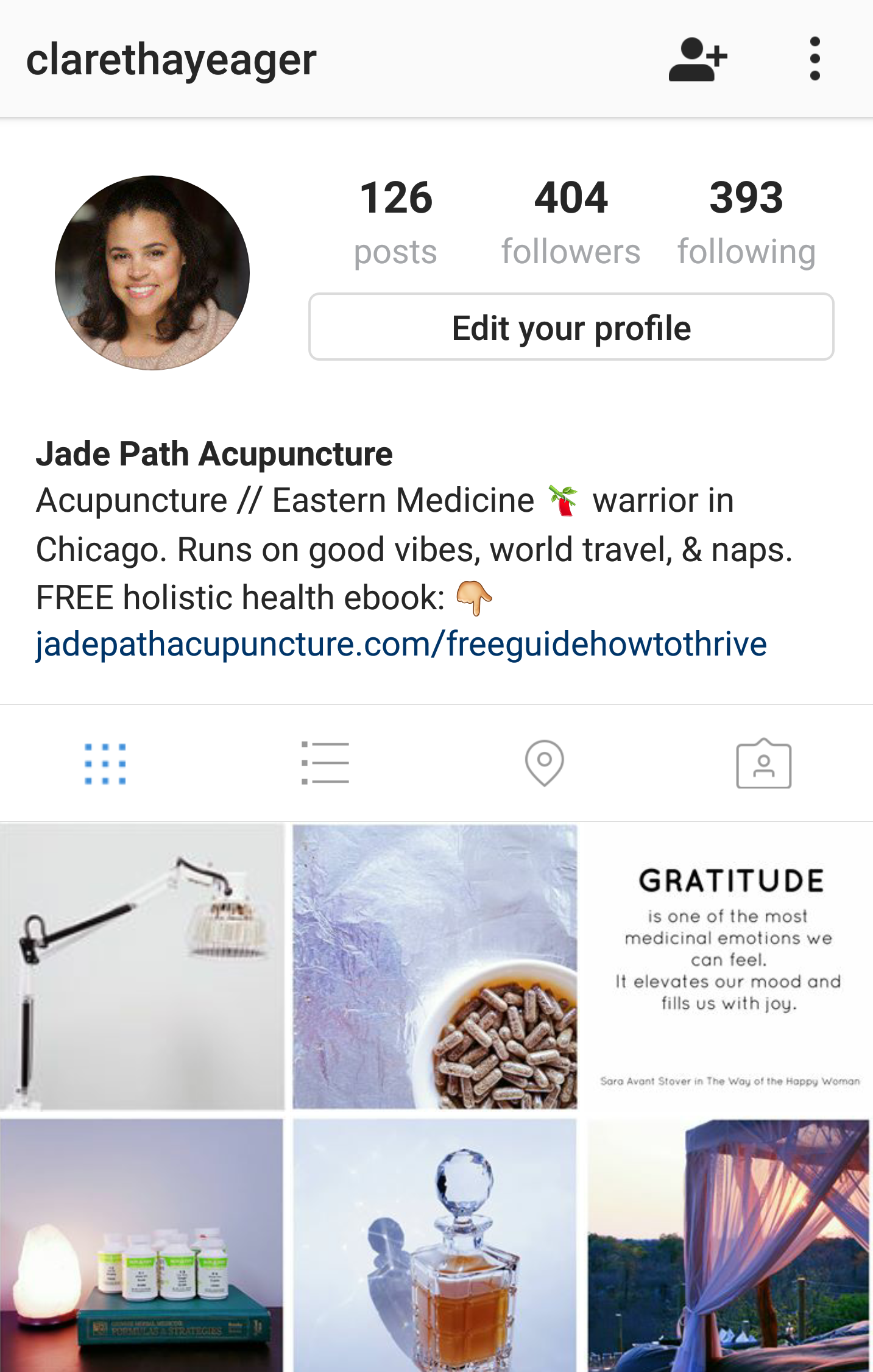 Q: What goes on during a treatment? A: Follow my Instagram :)
